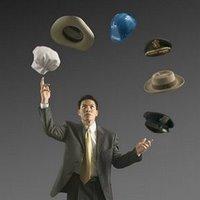 Malabarismos mentales (cuando un solo sombrero no es suficiente)